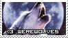 I Love Werewolves Stamp