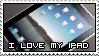 I love my iPad Stamp