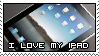 I love my iPad Stamp by sugarpoultry