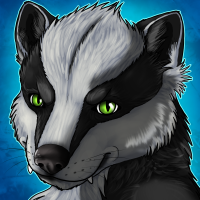Mono badger icon by sugarpoultry