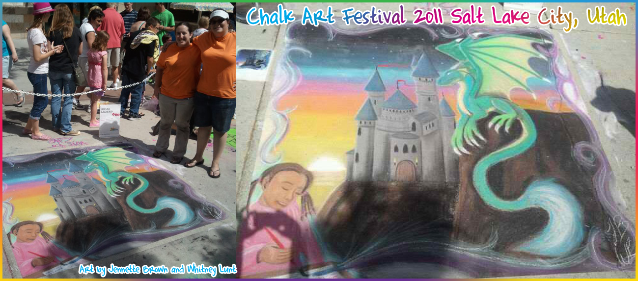 2011 Chalk Art Festival! by sugarpoultry
