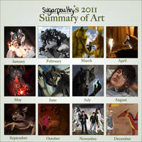2011 Summary of Art by sugarpoultry