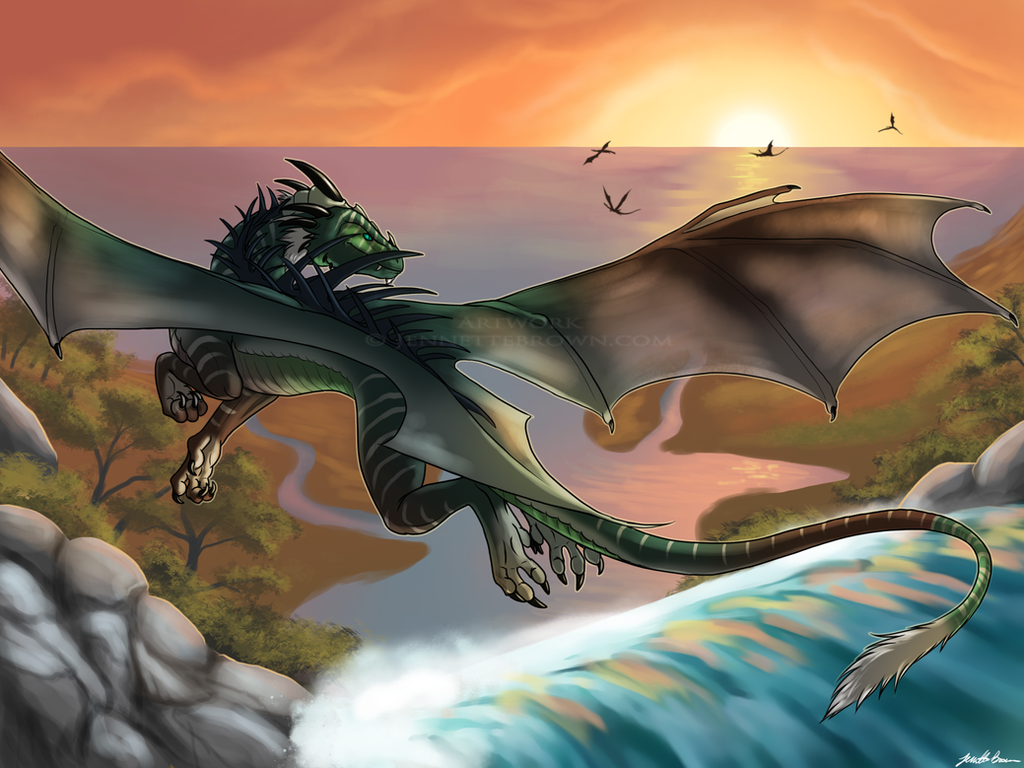 Dragon Cove by sugarpoultry