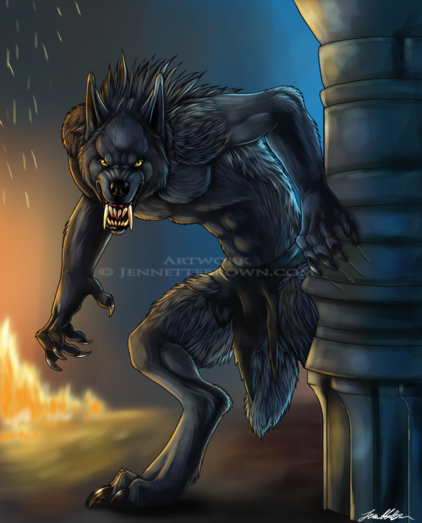 van helsing werewolf by sugarpoultry on deviantart