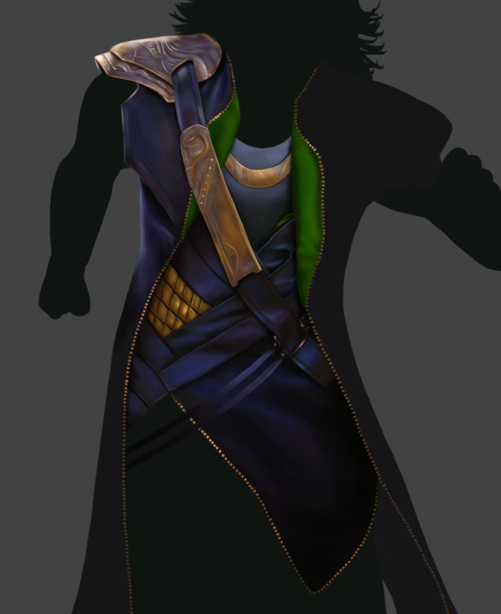 Loki Fan Art - WIP by sugarpoultry