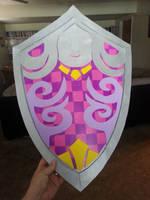 Skyward Sword - Goddess Shield by sugarpoultry