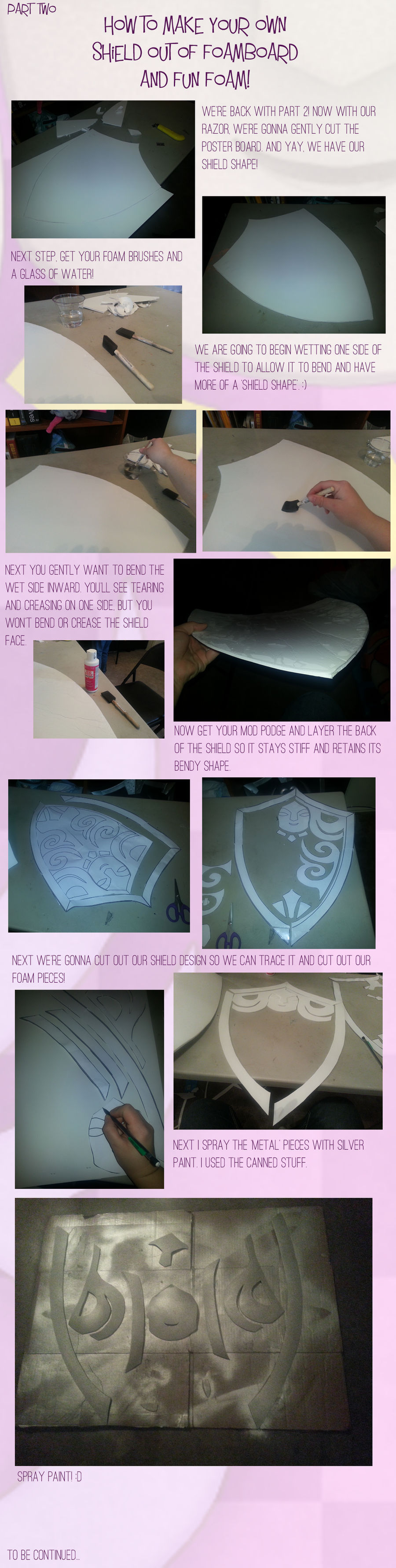 How to make your own shield - Part 2