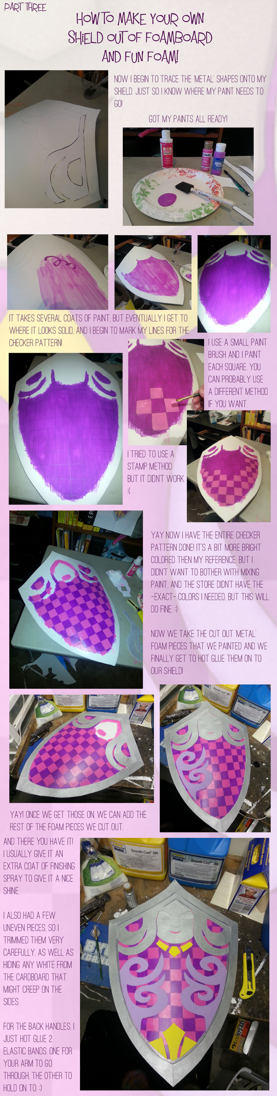 How to make your own shield - Part 3
