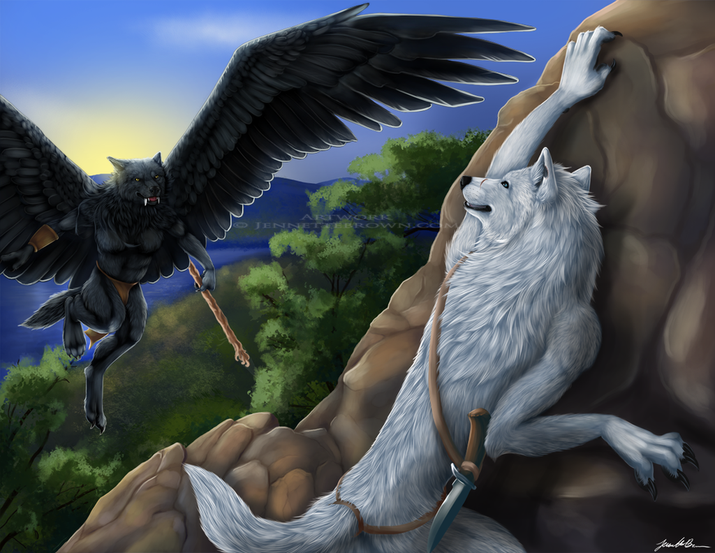 Grym and Kamots by sugarpoultry