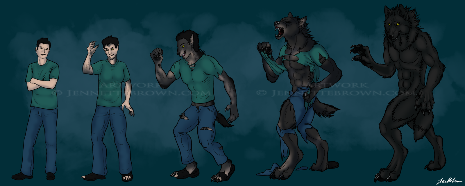 Werewolf Transformation Sequence | www.pixshark.com ...