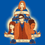 Timelord Companions - Shirt Design