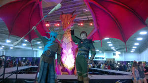 How To Train Your Dragon 2 Valka Hiccup Cosplay