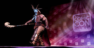 Valka takes the stage