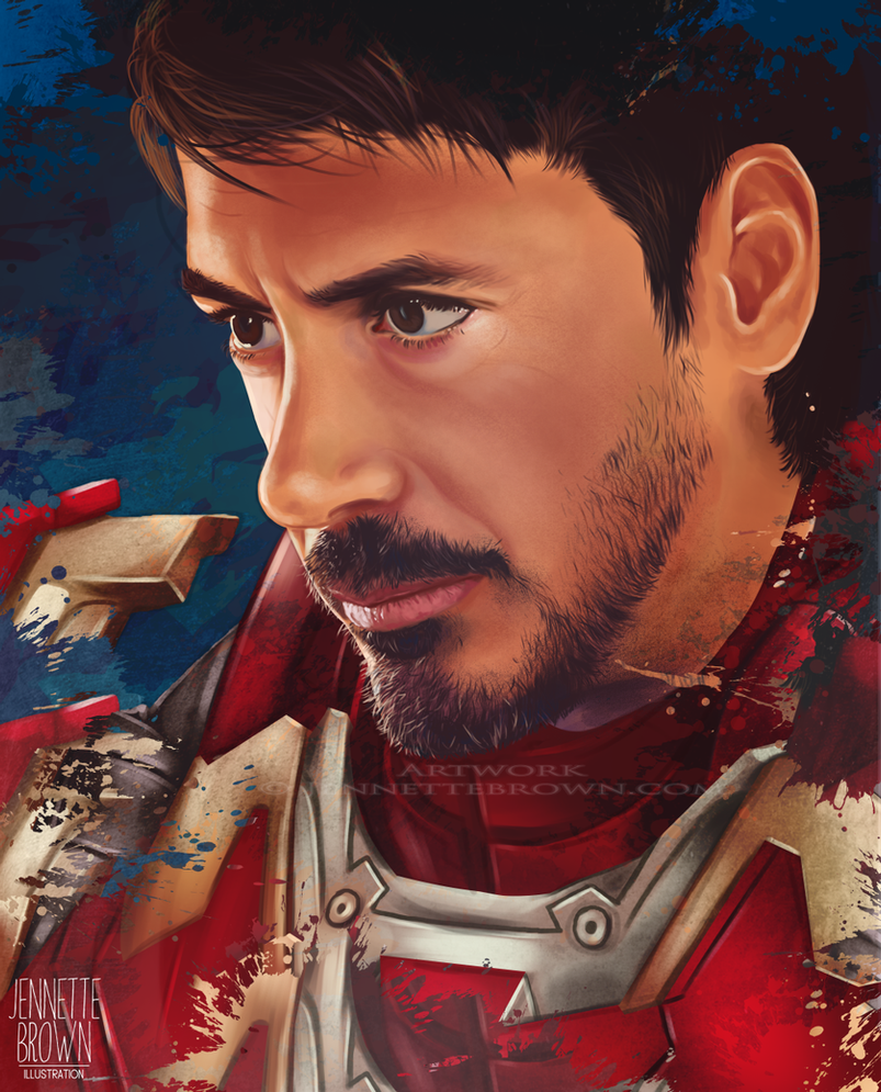 Iron Man by sugarpoultry