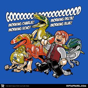 Good Morning Raptors - T-shirt Design