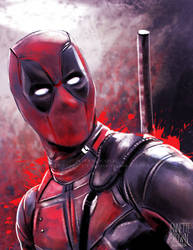 Deadpool by sugarpoultry