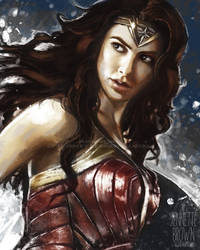 Wonder Woman by sugarpoultry