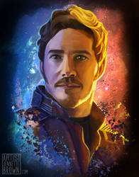 Star Lord by sugarpoultry