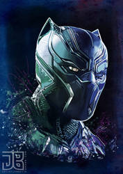 Black Panther by sugarpoultry