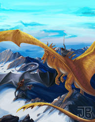 Dueling Dragon Riders