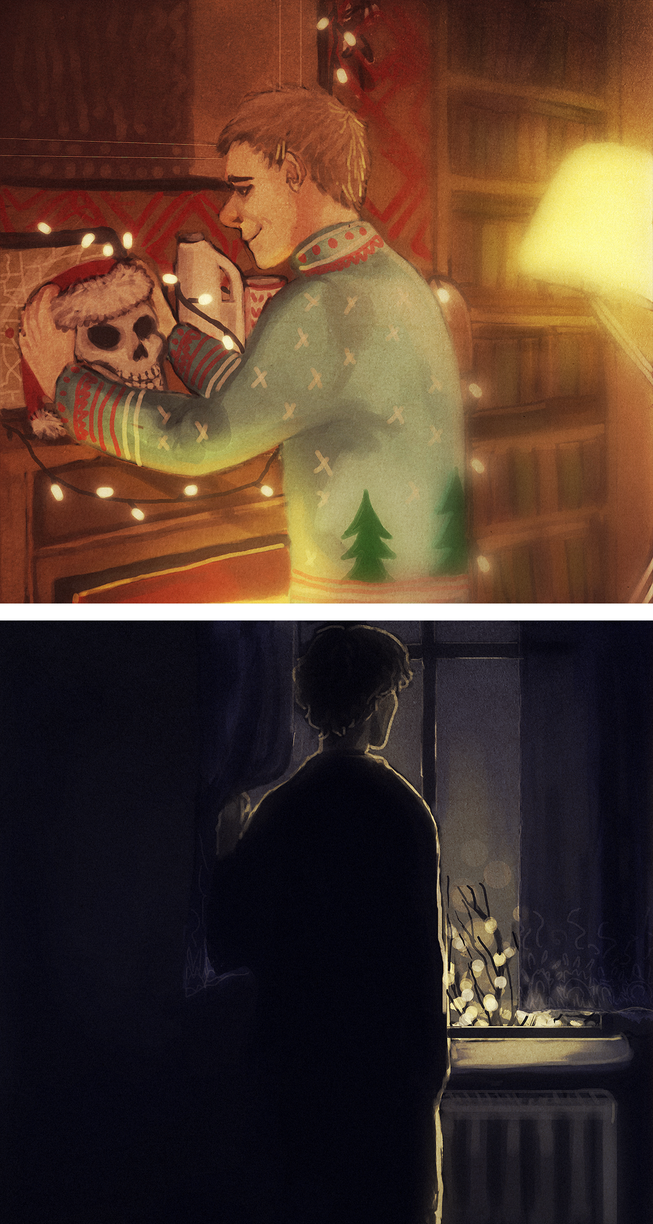 SH - i don't care about the fairy lights by Sherru