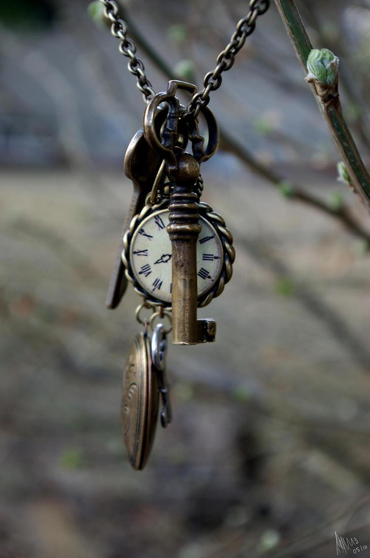 Clocks Keys and Crosses by LIPAH