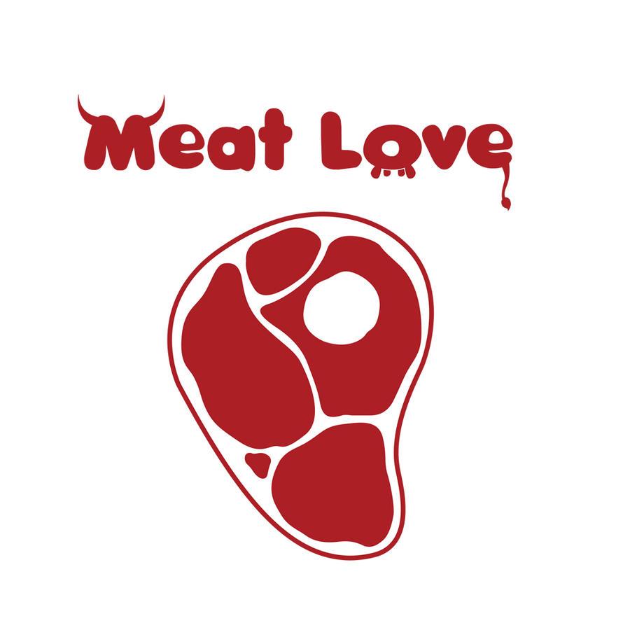 Meat Love Logo by Dooolittle on DeviantArt