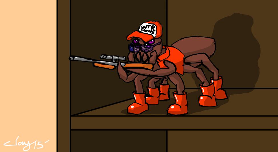 Hunter Spider by Captain-Marvelous