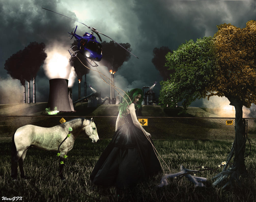 Mother nature war by WarGFX