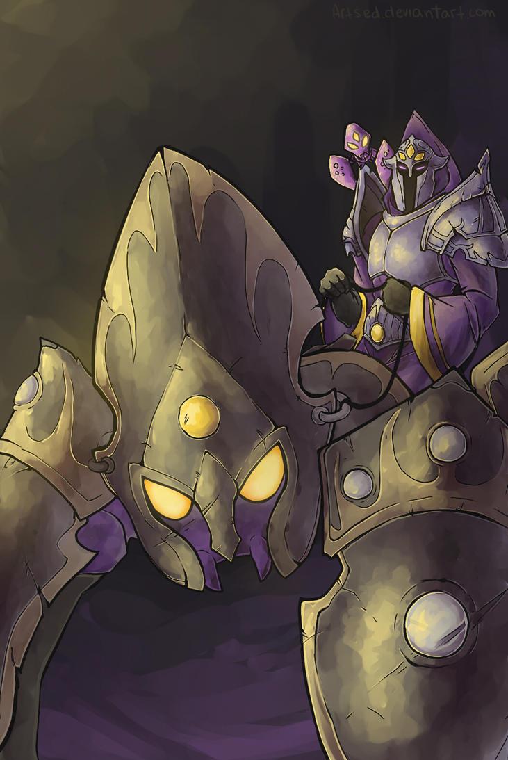Overlord Malzahar X-mas gift by Artsed