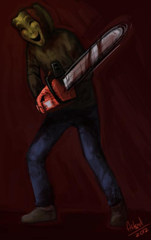 Chainsaw runner by BlazeMalefica on DeviantArt
