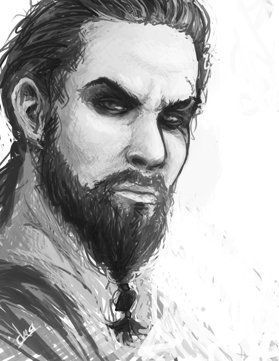 Khal Drogo by Artsed