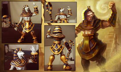 Pharaoh Nasus by BlazeMalefica