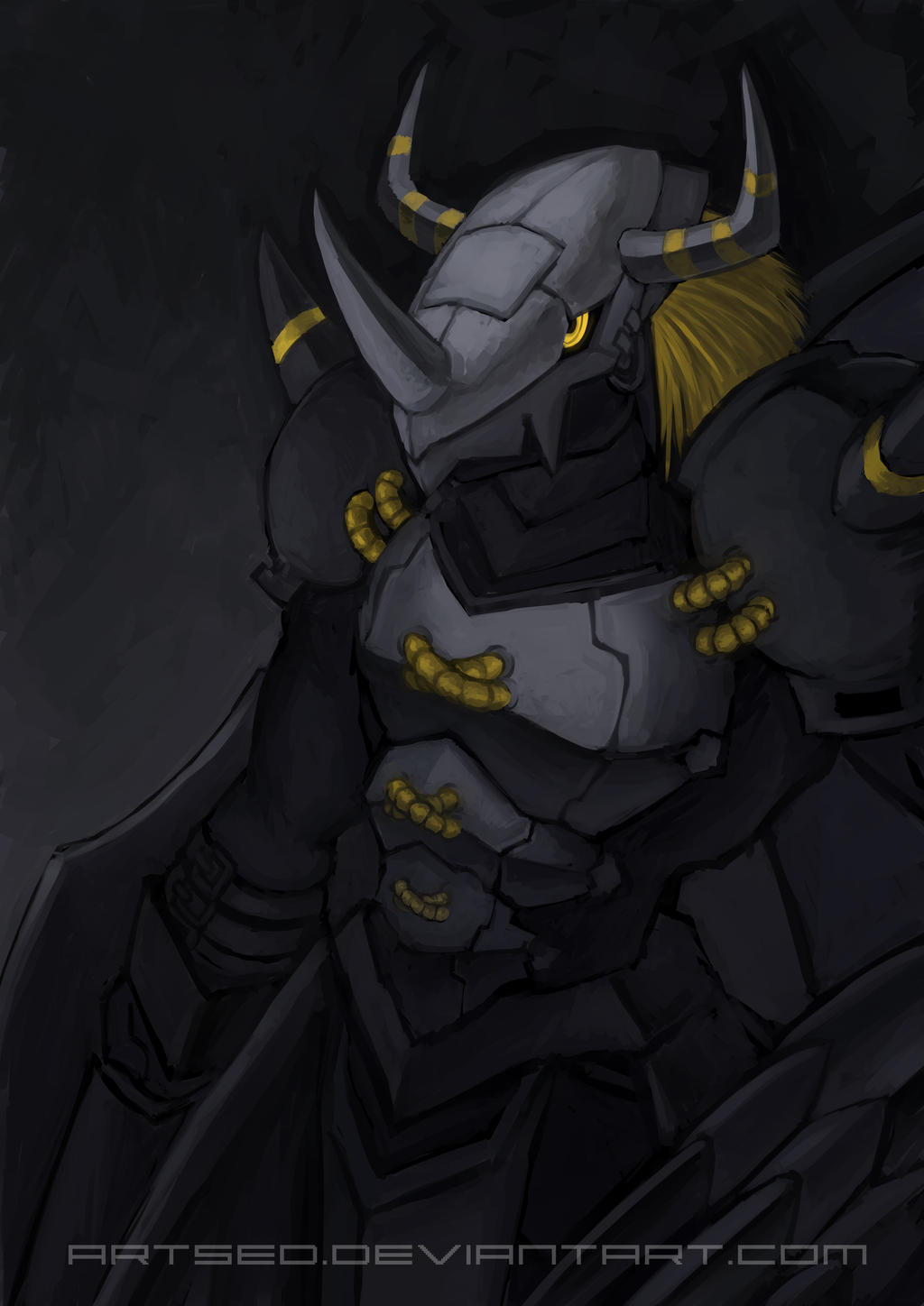 Blackwargreymon by Artsed