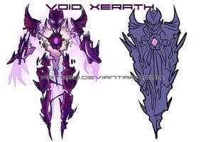 Void Xerath by BlazeMalefica