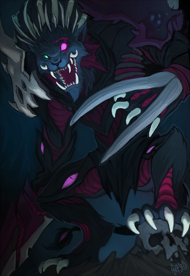 Void Rengar by Artsed