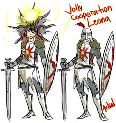 Jolly Co-operation Leona by BlazeMalefica