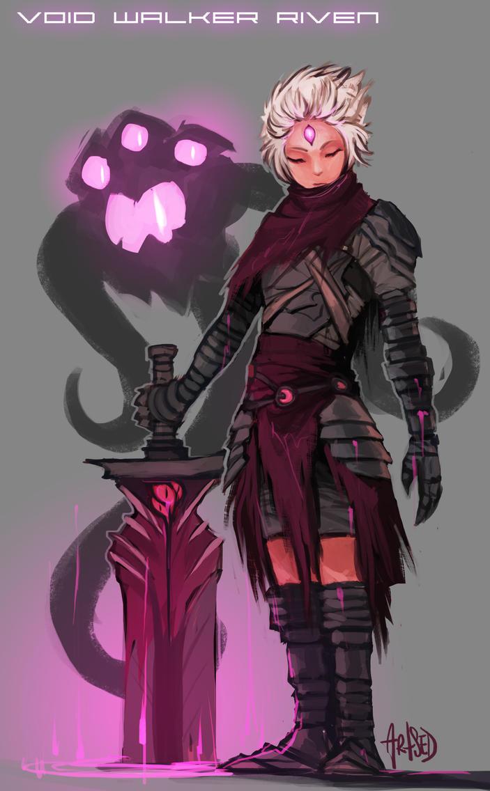 Voidwalker Riven by Artsed