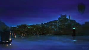 City of Azure Fire