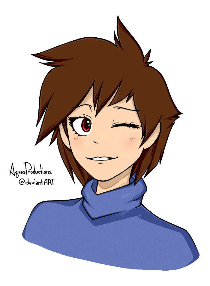 Undertale - Frisk by AquasProductions