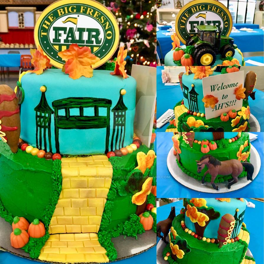 The Big Fresno Fair Cake Wizard Of Oz Theme By Elysiumfields90 On