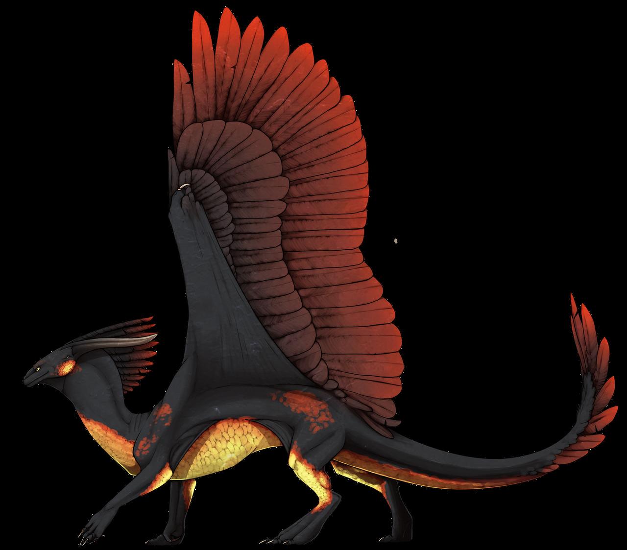 Wind Dragon by SashaWren