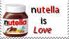 Nutella is Love by iSquirrely