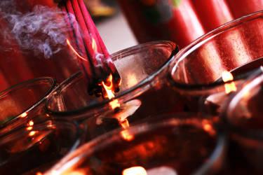 Incense I by pangerankucing