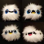 Four Snowball Sprites