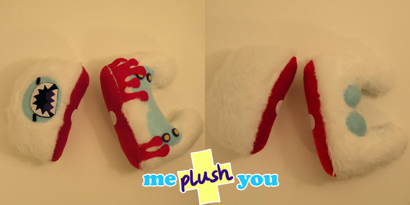 ME PLUSH YOU- Decapiyeti by loveandasandwich