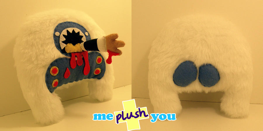 ME PLUSH YOU- Carniyeti by loveandasandwich