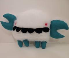 ME PLUSH YOU- Yeti Crab by loveandasandwich