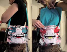 Double Weeko Bag by loveandasandwich