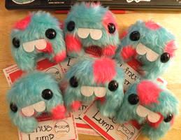Gang of Linus Lumps by loveandasandwich